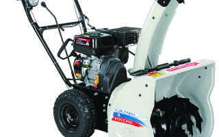 Снегоуборочная машина Интерскол СМБ-550. Эксплуатация, видео работы и отзывы потребителей