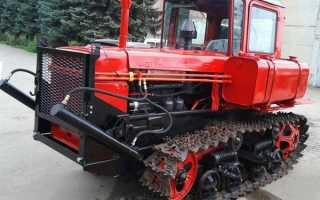 Трактор ДТ-75 гусеничный – технические характеристики, обзор, видео, фото
