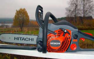 Обзор бензопил Hitachi: описание, характеристики и правила использования