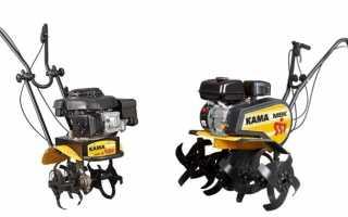 Мотокультиваторы КАМА. Модельный ряд, характеристики, отзывы
