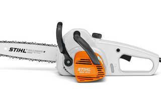 Электропила Stihl 141 С-Q : технически характеристики, правила эксплуатации и техника безопасности