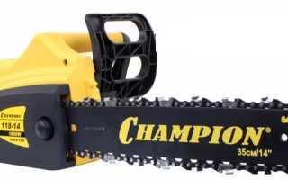 Электропила Champion 118 14: описание, технические характеристики и правила использования