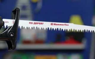 Сабельные пилы Хаммер: описание, характеристики и правила использования