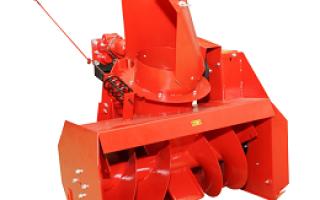 Обзор навесного снегоуборочного оборудования для мотоблоков ОКА