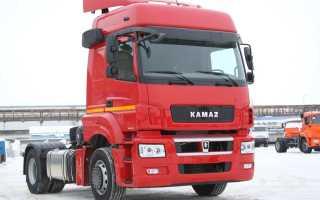 КамАЗ-5490: современный магистральный тягач