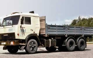 КамАЗ-53215. Описание автомобиля, технические и эксплуатационные характеристики