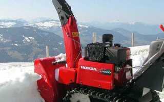 Обзор модельного ряда снегоуборщиков Хонда: описание, характеристики и правила использования