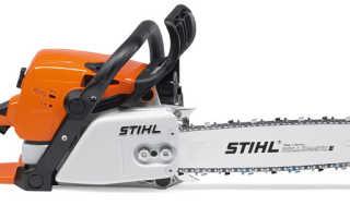 Бензопила Stihl MS-310: описание, характеристики и техника безопасности