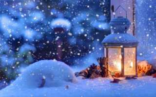 Народные приметы на декабрь
