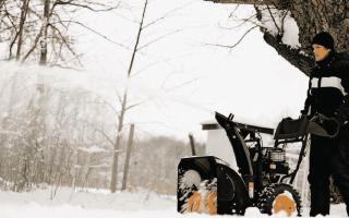 Модельный ряд снегоуборщиков Партнер: описание, характеристики и отзывы
