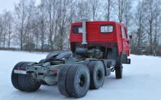 КамАЗ-54112. Описание, технические и эксплуатационные характеристики