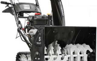 Модельный ряд снегоуборщиков Hyundai: описание, характеристики и отзывы