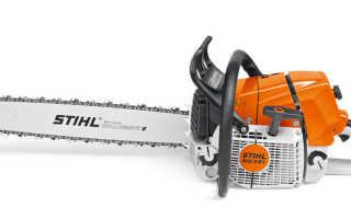 Бензопила Stihl ms 461: технические характеристики, описание и правила работы