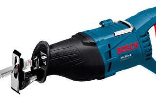 Сабельные пилы Bosch. Обзор модельного ряда, характеристики, отзывы