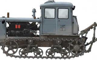 Трактор Т-74. Фото, видео обзор, технические характеристики