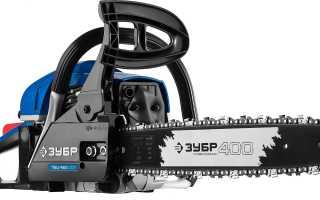 """Бензопила """"Зубр"""" ПБЦ-М450 40п: описание, характеристик и и правила использования"""