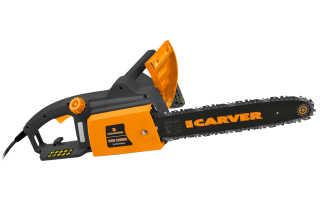Электрическая цепная пила Carver RSE 2200: описание, характеристики и правила использования