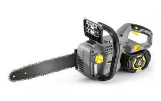 Электропила Karcher CS 330 BP: описание, характеристики и правила использования