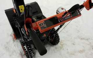 Снегоуборщики Patriot серия PRO: обзор моделей 881 Е, 658 Е, 1150 ED и др.